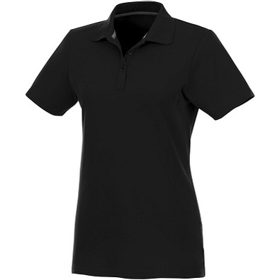 ELEVATE Damen Poloshirt Helios, schwarz, XS
