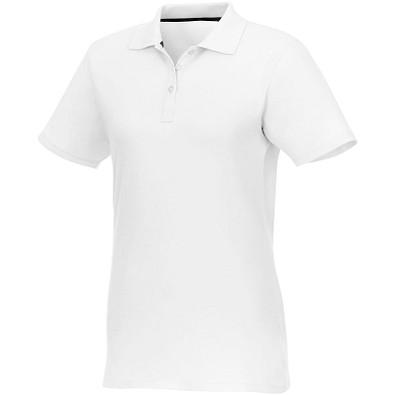 ELEVATE Damen Poloshirt Helios, weiß, XXXXL