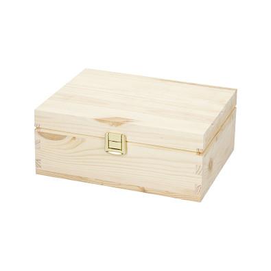 """Holzbox """"Pino"""", klein ohne Trennfächer, natur"""