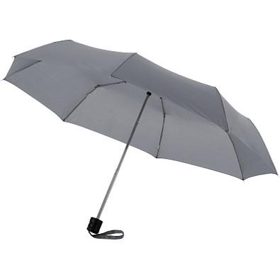 "Ida 21,5"" Kompaktregenschirm, grau"
