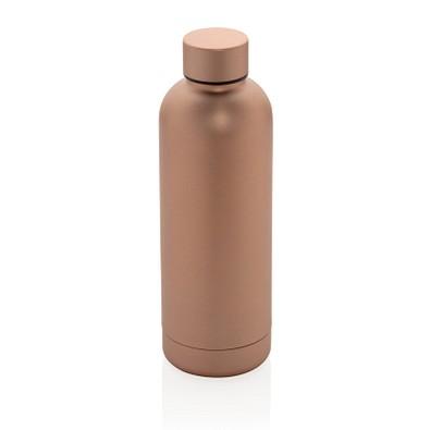 XD COLLECTION doppelwandige Vakuum-Flasche Impact Stainless Steel, 500 ml, kupfer