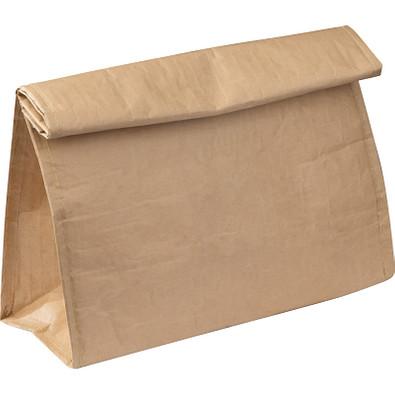 Isoliertasche mit Umschlag, beige