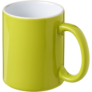Java Keramiktasse, 330 ml, limone,weiss
