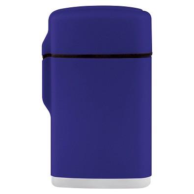 Jet-Flame Feuerzeug Rubber, blau