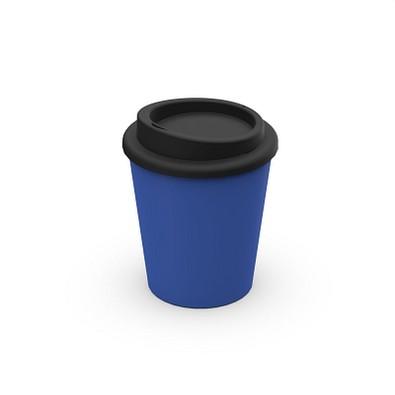 """Kaffeebecher """"Premium"""" small antibakteriell, standard-blau PP"""