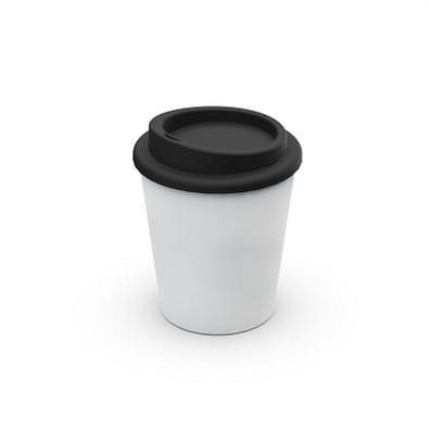 """Kaffeebecher """"Premium"""" small antibakteriell, weiß"""