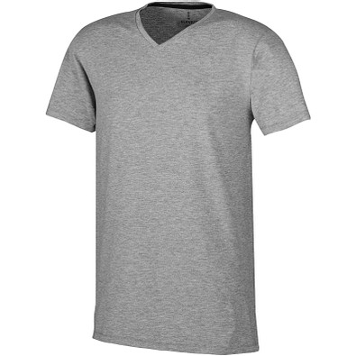 ELEVATE Herren Öko T-Shirt Kawartha, grau meliert, M