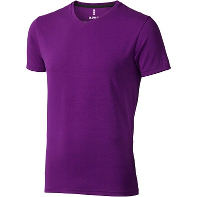 ELEVATE Herren Öko T-Shirt Kawartha, pflaume, M