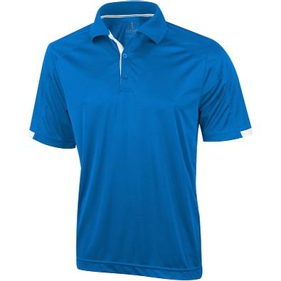 ELEVATE Herren Poloshirt Kiso cool fit, blau, L