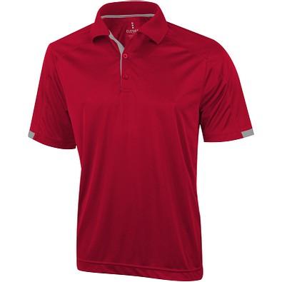 ELEVATE Herren Poloshirt Kiso cool fit, rot, S