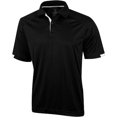 ELEVATE Herren Poloshirt Kiso cool fit, schwarz, XL