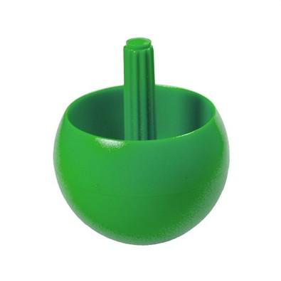 Kreisel Stehauf, 29 mm, klein, standard-grün