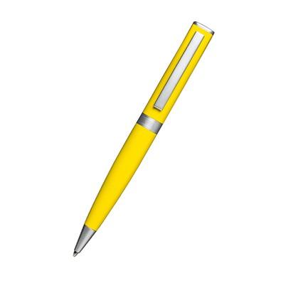 reflects® Drehkugelschreiber Clic Clac Campbellton, blaue Mine, gelb