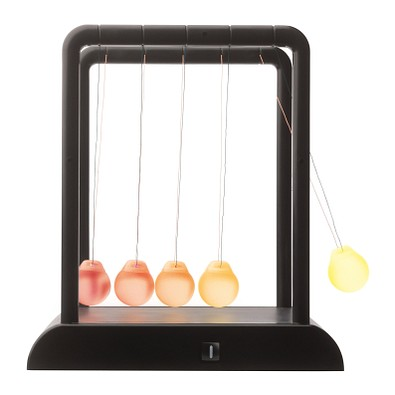 reflects® Kugelstoßpendel mit Licht Murmansk, schwarz