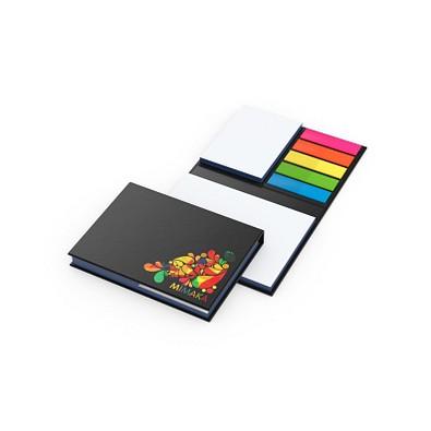 geiger notes Haftnotiz-Set London White Bestseller, inkl. Druck auf Umschlag, mit Farbschnitt blau