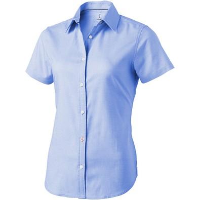 ELEVATE Damen Kurzarm Bluse Manitoba, hellblau, XL