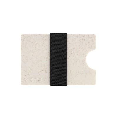METMAXX® Kartenhülle IwalletCompact aus Weizenstroh, beige