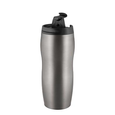 METMAXX® Thermobecher CremaExtensaBasic, 300 ml, titan / schwarz
