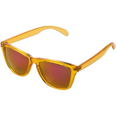 Nerd-Brille mit Konturglas Dubai,orange