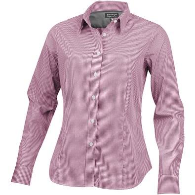 Slazenger™ Damen Langarm Bluse Net, rot, L
