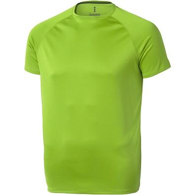 ELEVATE Herren T-Shirt Niagara cool fit, apfelgrün, M