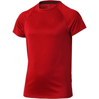 ELEVATE Kinder T-Shirt Niagara cool fit, rot, 116