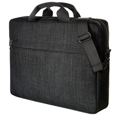 Notebook-Tasche Europe, schwarz meliert