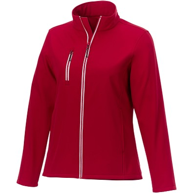 Orion Softshelljacke für Damen, rot, XS