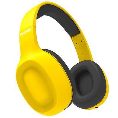 Pantone Bluetooth Kopfhörer Yellow