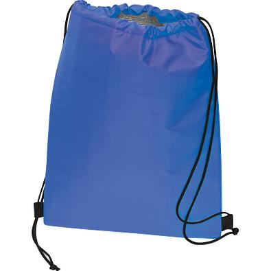 Polyester Gymbag mit Kühlfunktion, blau