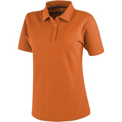 ELEVATE Damen Poloshirt Primus, orange, XS