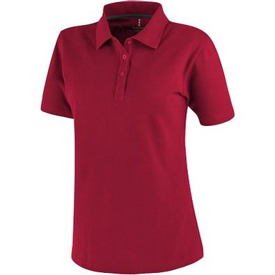 ELEVATE Damen Poloshirt Primus, rot, XS