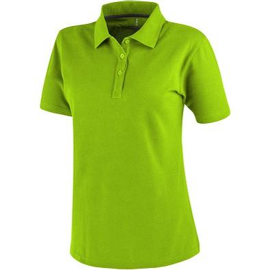 ELEVATE Damen Poloshirt Primus, apfelgrün, XS