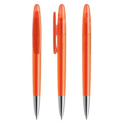 prodir® Drehkugelschreiber DS5 TFS Twist, blaue Mine, orange