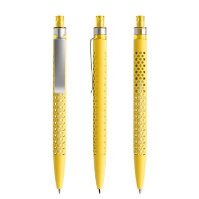 prodir® Druckkugelschreiber QS40 Soft Touch PRS Push, gelb