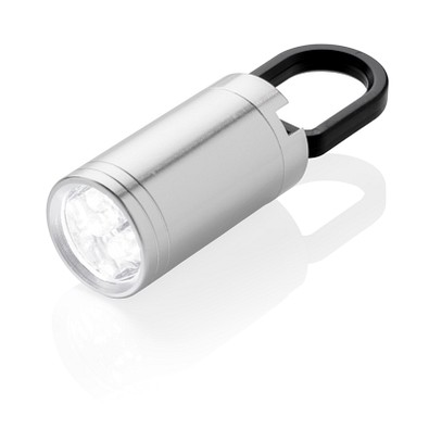 XD COLLECTION LED Lampe Pull-It, silber/schwarz