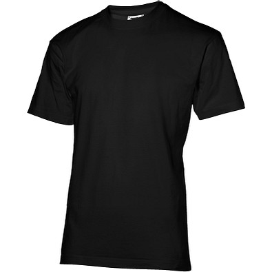Slazenger™ Unisex T-Shirt Ace Return, schwarz, XXL