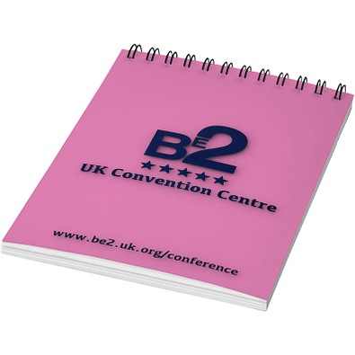 Rothko DIN A7 Notizbuch, rosa,schwarz, 50 Blatt