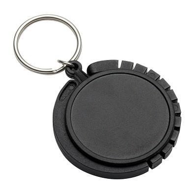 reflects® Schlüsselanhänger mit Taschenhaken Graz, schwarz
