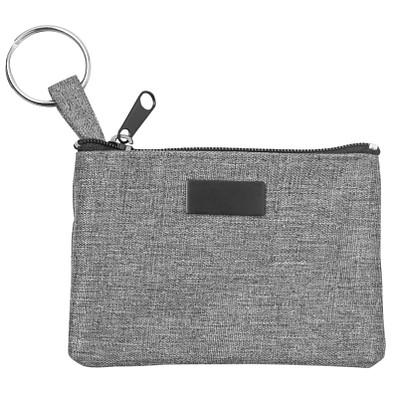 CREATIV-DESIGN Schlüsselmäppchen, grau