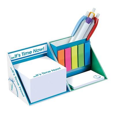 Schreibtisch-Würfel mit Hardcover, Inkl. Einzelblattbedruckung