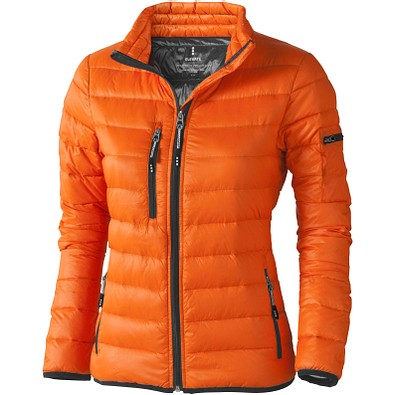 ELEVATE Damen Daunenjacke Scotia, orange, L