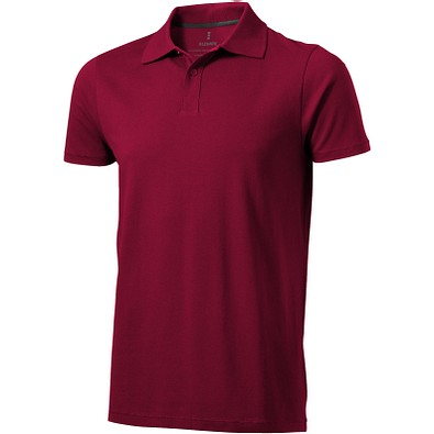 ELEVATE Herren Poloshirt Seller, bordeaux, XS