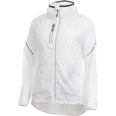 ELEVATE Damen Reflektierende Jacke Signal, weiß, XL