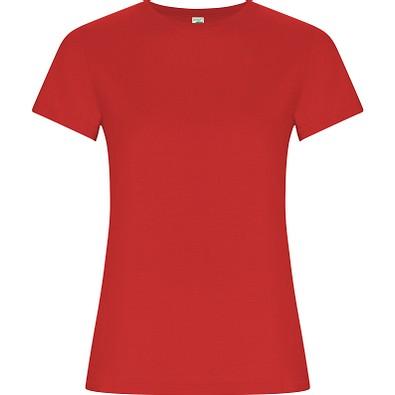 T-Shirt Golden Woman, rot, XXL
