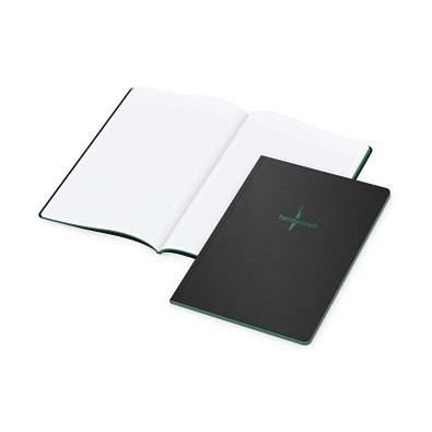 geiger notes Broschur Tablet-Book A4, inkl. Prägung und Farbschnitt grün