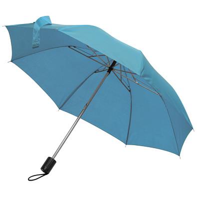 Taschenschirm, hellblau