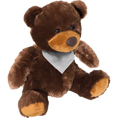 Teddybär Papa aus Plüsch, braun