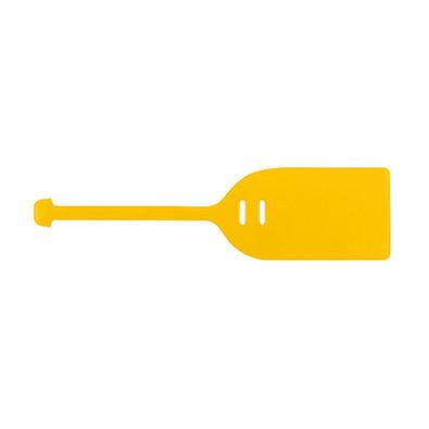 THANXX® Kofferanhänger Folie Normalfolie, gelb