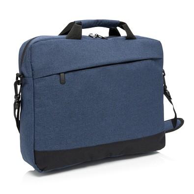 """XD COLLECTION Laptoptasche Trend 15"""", blau/schwarz"""
